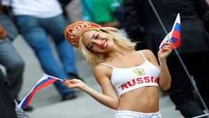 Dünya Kupası'na güzellikleriyle damga vurdular!
