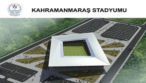 Türkiye'nin ilk 'multifonksiyonel' stadyumu Kahramanmaraş'a yapılacak