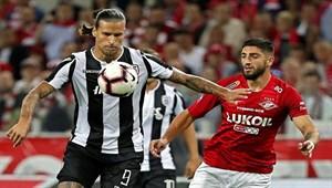 Spartak Moskova-PAOK maç sonucu: 0-0