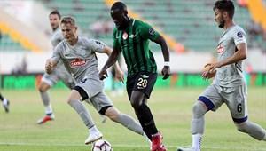 Akhisarspor - Çaykur Rizespor maç sonucu: 1-1