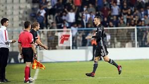 Erzurumspor - Beşiktaş maçından kareler