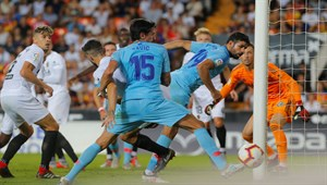 Valencia - Atletico Madrid maç sonucu: 1-1