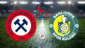 Zonguldak Kömürspor - Şanlıurfaspor maçı saat kaçta, hangi kanalda?