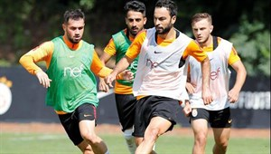 Galatasaray'da Akhisarspor hazırlıkları başladı