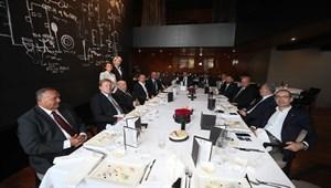 Dinamo Zagreb Kulübü Fenerbahçe yönetimini yemekte ağırladı