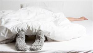Bu haber çorapla yatağa girenleri yakından ilgilendiriyor