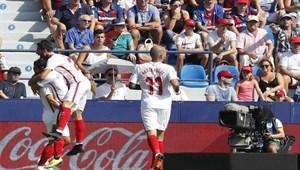 Sevilla - Levante maç sonucu: 6-2