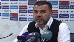 """Mustafa Alper Avcı: """"Bu maçta şanssızdık"""""""