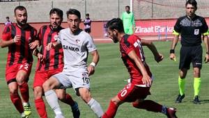 Anagold 24 Erzincanspor - Gazişehir Gaziantep FK maç sonucu: 2-1