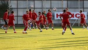 Sivasspor, Bursaspor hazırlıklarını sürdürdü! VİDEO